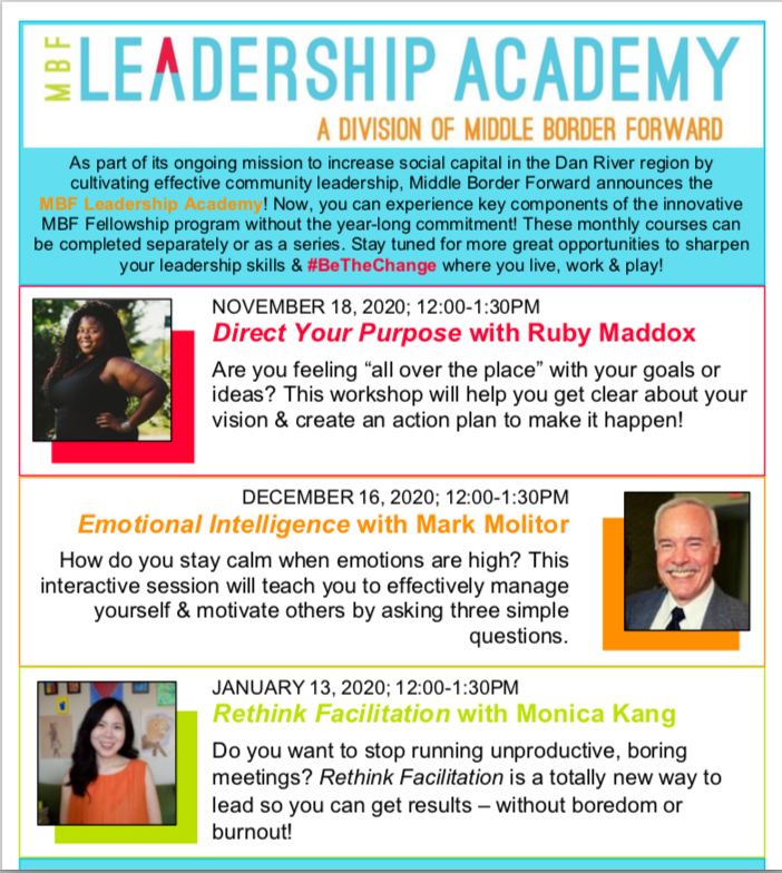 Leadership Academy Flyer